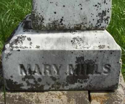 MILLS, MARY - Keokuk County, Iowa | MARY MILLS
