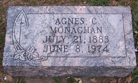 MONAGHAN, AGNES C. - Keokuk County, Iowa | AGNES C. MONAGHAN