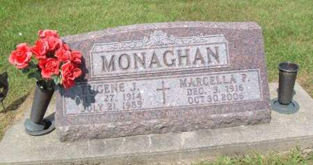 MONAGHAN, MARCELLA - Keokuk County, Iowa   MARCELLA MONAGHAN