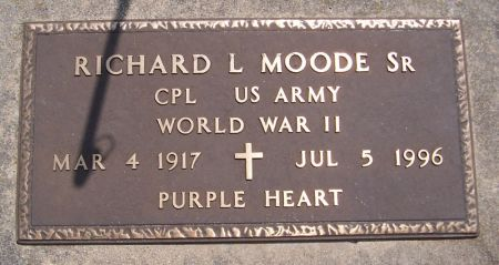 MOODE, RICHARD L. - Keokuk County, Iowa | RICHARD L. MOODE
