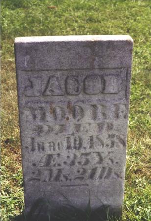 MOORE, JACOB - Keokuk County, Iowa | JACOB MOORE