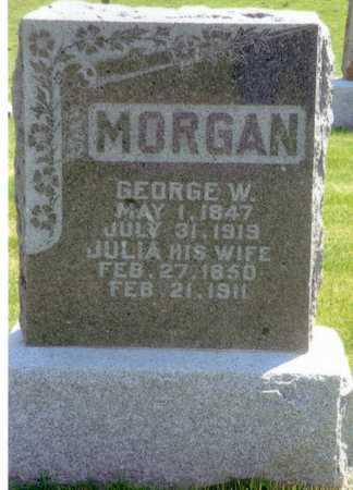 HOLLINGSWORTH MORGAN, JULIA - Keokuk County, Iowa | JULIA HOLLINGSWORTH MORGAN