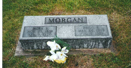 MORGAN, PHILO E - Keokuk County, Iowa | PHILO E MORGAN