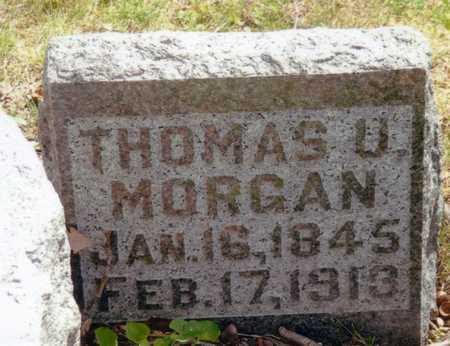 MORGAN, THOMAS U. - Keokuk County, Iowa | THOMAS U. MORGAN