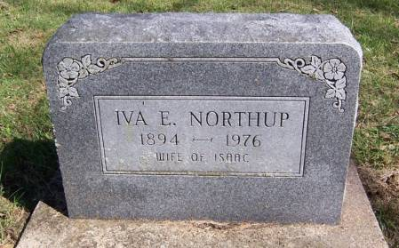 UNKNOWN NORTHUP, IVA E. - Keokuk County, Iowa | IVA E. UNKNOWN NORTHUP