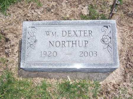 NORTHUP, WM. DEXTER - Keokuk County, Iowa | WM. DEXTER NORTHUP