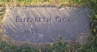 OGAN, ELIZABETH - Keokuk County, Iowa | ELIZABETH OGAN
