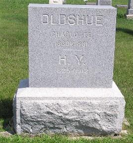 OLDSHUE, CHARLOTTE - Keokuk County, Iowa | CHARLOTTE OLDSHUE