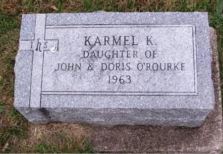 O'ROURKE, KARMEL K. - Keokuk County, Iowa | KARMEL K. O'ROURKE