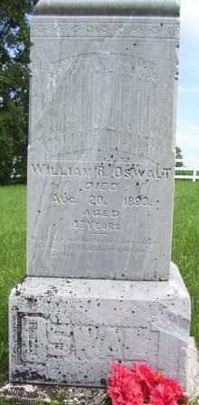OSWALT, WILLIAM R. - Keokuk County, Iowa | WILLIAM R. OSWALT