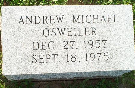 OSWEILER, ANDREW MICHAEL - Keokuk County, Iowa | ANDREW MICHAEL OSWEILER