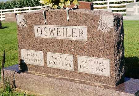 OSWEILER, MARY C. - Keokuk County, Iowa | MARY C. OSWEILER