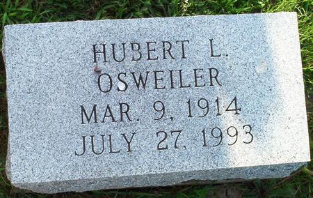 OSWEILER, HUBERT L. - Keokuk County, Iowa | HUBERT L. OSWEILER