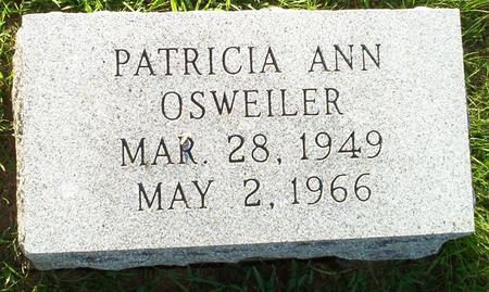 OSWEILER, PATRICIA ANN - Keokuk County, Iowa | PATRICIA ANN OSWEILER