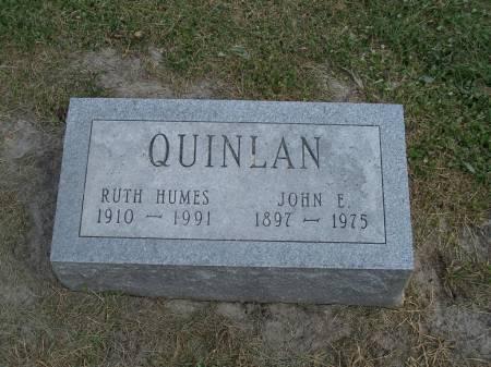 HUMES QUINLAN, RUTH - Keokuk County, Iowa | RUTH HUMES QUINLAN