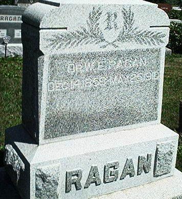 RAGAN, W.E. - Keokuk County, Iowa   W.E. RAGAN