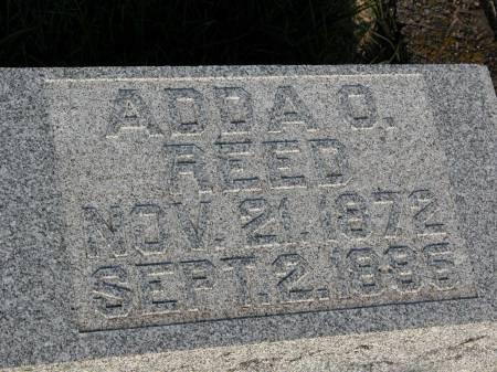 REED, ADDA O. - Keokuk County, Iowa   ADDA O. REED
