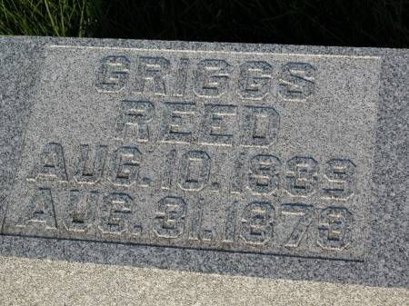 REED, GRIGGS - Keokuk County, Iowa | GRIGGS REED