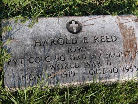 REED, HAROLD - Keokuk County, Iowa | HAROLD REED