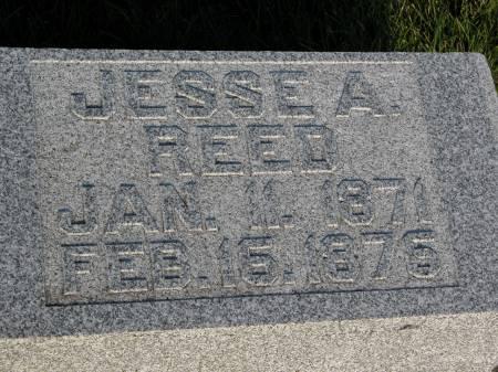 REED, JESSE A. - Keokuk County, Iowa | JESSE A. REED