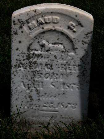 REED, MAUD - Keokuk County, Iowa | MAUD REED