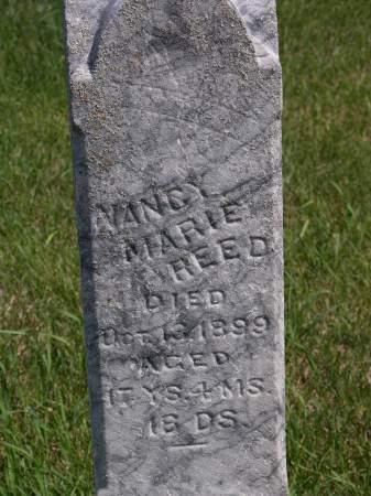 REED, NANCY MARIE - Keokuk County, Iowa | NANCY MARIE REED