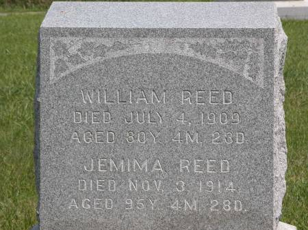 REED, WILLIAM - Keokuk County, Iowa | WILLIAM REED