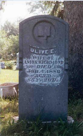 RICHMOND, OLIVE ELVIRA - Keokuk County, Iowa | OLIVE ELVIRA RICHMOND