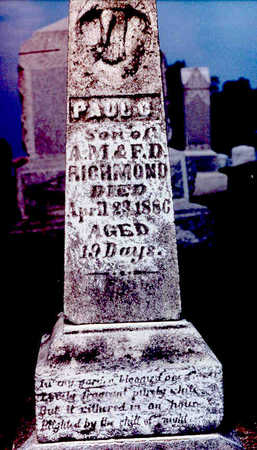 RICHMOND, PAUL CHARLES - Keokuk County, Iowa | PAUL CHARLES RICHMOND