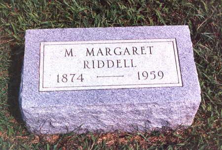 OCHILTREE RIDDELL, MARY MARGARET - Keokuk County, Iowa | MARY MARGARET OCHILTREE RIDDELL