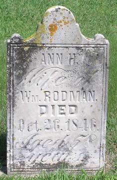 RODMAN, ANN H. - Keokuk County, Iowa | ANN H. RODMAN