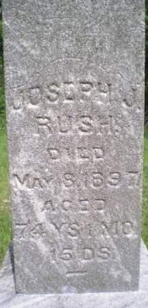 RUSH, JOSEPH J. - Keokuk County, Iowa   JOSEPH J. RUSH