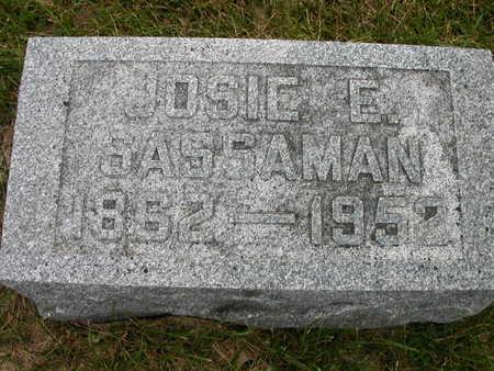 FLUCKEY SASSAMAN, JOSIE ELLEN - Keokuk County, Iowa | JOSIE ELLEN FLUCKEY SASSAMAN