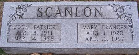 SCANLON, JOHN PATRICK - Keokuk County, Iowa | JOHN PATRICK SCANLON