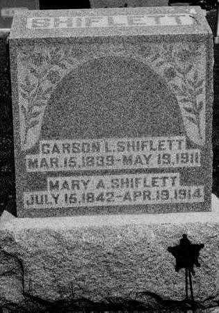 MORRISON SHIFLETT, MARY - Keokuk County, Iowa | MARY MORRISON SHIFLETT