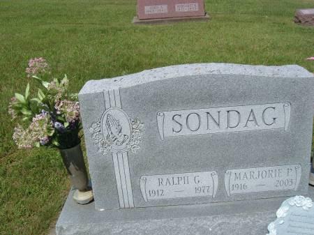 SONDAG, MARJORIE - Keokuk County, Iowa | MARJORIE SONDAG