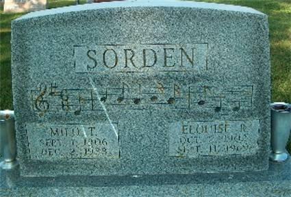 SORDEN, ELOUISE R - Keokuk County, Iowa | ELOUISE R SORDEN