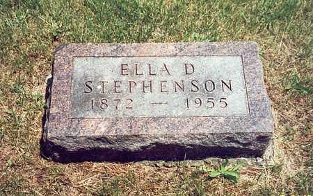 STEPHENSON, ELLA D. - Keokuk County, Iowa | ELLA D. STEPHENSON