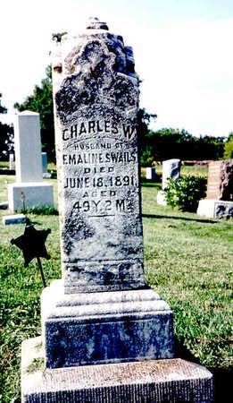 SWAILS, CHARLES W. - Keokuk County, Iowa   CHARLES W. SWAILS