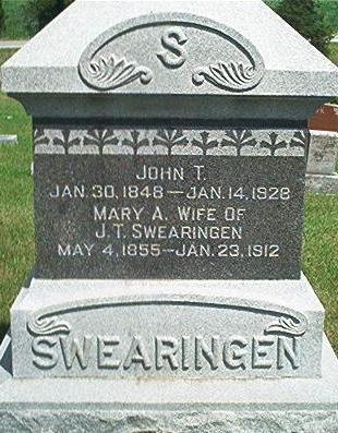SWEARINGEN, JOHN T. - Keokuk County, Iowa | JOHN T. SWEARINGEN