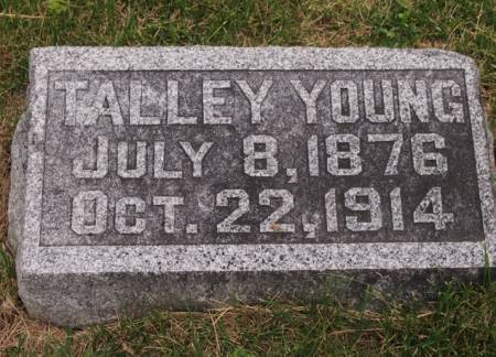 YOUNG, TALLEY RUSSELL - Keokuk County, Iowa | TALLEY RUSSELL YOUNG