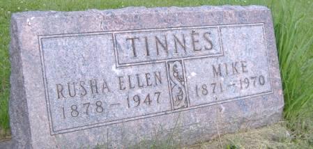 TINNES, RUSHA ELLEN - Keokuk County, Iowa | RUSHA ELLEN TINNES