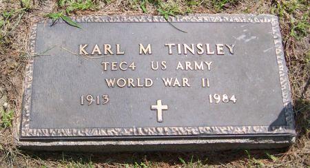 TINSLEY, KARL M. - Keokuk County, Iowa | KARL M. TINSLEY