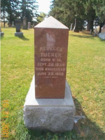 TUCKER, REBECCA - Keokuk County, Iowa | REBECCA TUCKER