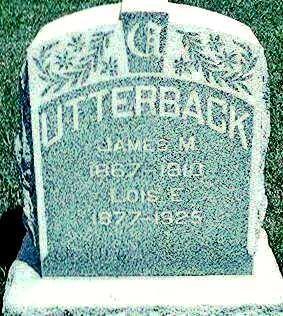UTTERBACK, LOIS E. - Keokuk County, Iowa   LOIS E. UTTERBACK