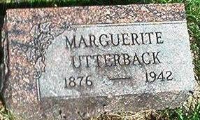 UTTERBACK, MARGUERITE - Keokuk County, Iowa | MARGUERITE UTTERBACK