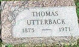 UTTERBACK, THOMAS - Keokuk County, Iowa | THOMAS UTTERBACK