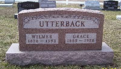 UTTERBACK, WILMER - Keokuk County, Iowa   WILMER UTTERBACK