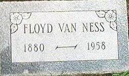 VAN NESS, FLOYD - Keokuk County, Iowa | FLOYD VAN NESS