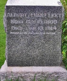 VANFLEET, ALBERT J. - Keokuk County, Iowa | ALBERT J. VANFLEET